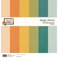 Simple Stories - Fall Farmhouse Collection - 12 x 12 Simple Basics Kit