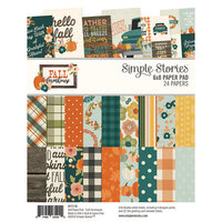 Simple Stories - Fall Farmhouse Collection - 6 x 8 Paper Pad