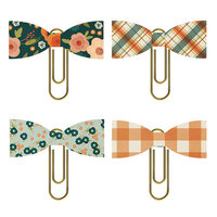 Simple Stories - Fall Farmhouse Collection - Bow Clips