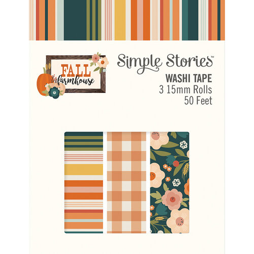 Simple Stories - Fall Farmhouse Collection - Washi Tape