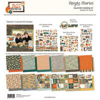 Simple Stories - Fall Farmhouse Collection - 12 x 12 Collector's Essential Kit