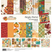 Simple Stories - Autumn Splendor Collection - 12 x 12 Collection Kit