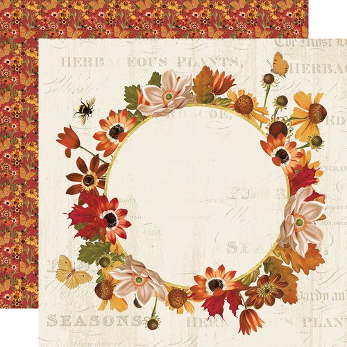 Simple Stories - Autumn Splendor Collection - 12 x 12 Double Sided Paper - Splendor