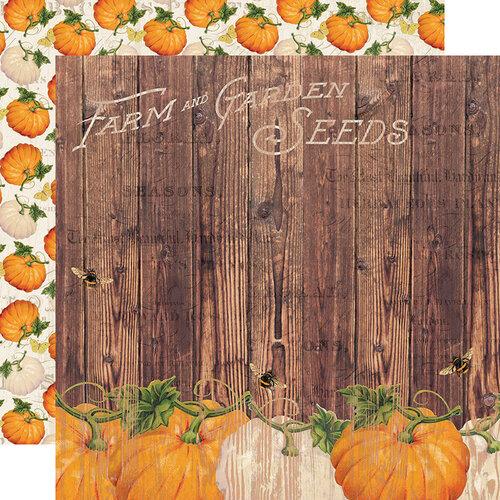 Simple Stories - Autumn Splendor Collection - 12 x 12 Double Sided Paper - Harvest Memories