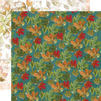Simple Stories - Autumn Splendor Collection - 12 x 12 Double Sided Paper - Autumn Leaves