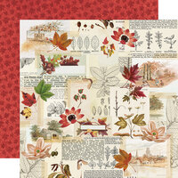 Simple Stories - Autumn Splendor Collection - 12 x 12 Double Sided Paper - Grateful Hearts