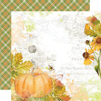 Simple Stories - Autumn Splendor Collection - 12 x 12 Double Sided Paper - Fabulous Fall