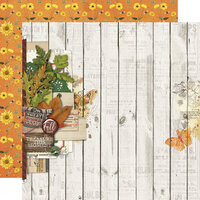 Simple Stories - Autumn Splendor Collection - 12 x 12 Double Sided Paper - Fall Blessings