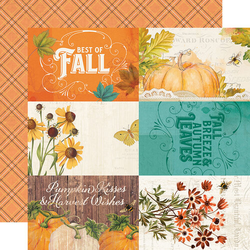 Simple Stories - Autumn Splendor Collection - 12 x 12 Double Sided Paper - 4 x 6 Elements