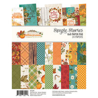 Simple Stories - Autumn Splendor Collection - 6 x 8 Paper Pad