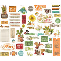 Simple Stories - Autumn Splendor Collection - Bits and Pieces