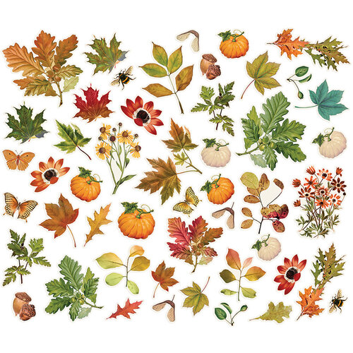 Simple Stories - Autumn Splendor Collection - Foliage Bits and Pieces