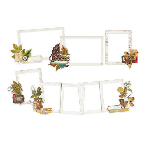 Simple Stories - Autumn Splendor Collection - Layered Frames
