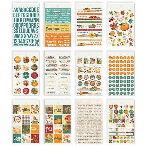 Simple Stories - Autumn Splendor Collection - Mini Sticker Tablet