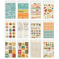 Simple Stories - Autumn Splendor Collection - Mini Sticker Tablet