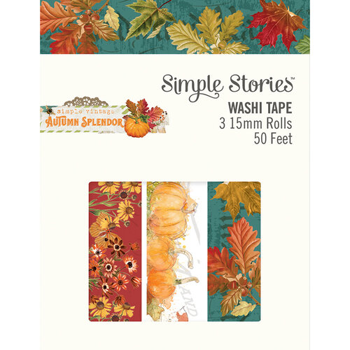 Simple Stories - Autumn Splendor Collection - Washi Tape