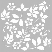 Simple Stories - Autumn Splendor Collection - 6 x 6 Stencil