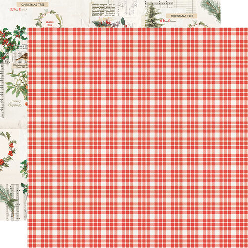 Simple Stories - Country Christmas Collection - 12 x 12 Double Sided Paper - Wonderful Life