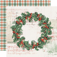 Simple Stories - Country Christmas Collection - 12 x 12 Double Sided Paper - Christmas Magic