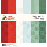 Simple Stories - Country Christmas Collection - 12 x 12 Simple Basics Kit