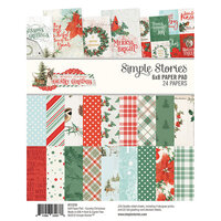 Simple Stories - Country Christmas Collection - 6 x 8 Paper Pad