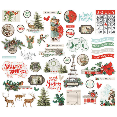 Simple Stories - Country Christmas Collection - Bits and Pieces