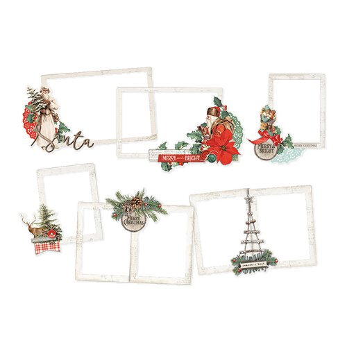 Simple Stories - Country Christmas Collection - Layered Frames