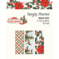 Simple Stories - Country Christmas Collection - Washi Tape