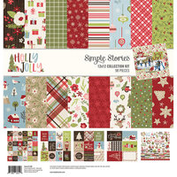 Simple Stories - Christmas - Holly Jolly Collection - 12 x 12 Collection Kit