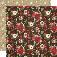 Simple Stories - Christmas - Holly Jolly Collection - 12 x 12 Double Sided Paper - Home for the Holidays