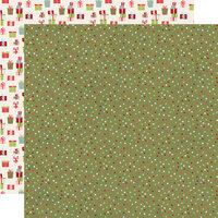 Simple Stories - Christmas - Holly Jolly Collection - 12 x 12 Double Sided Paper - Seasons Greetings