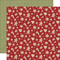Simple Stories - Christmas - Holly Jolly Collection - 12 x 12 Double Sided Paper - Happy Holidays