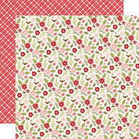 Simple Stories - Christmas - Holly Jolly Collection - 12 x 12 Double Sided Paper - Peace and Joy