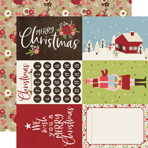 Simple Stories - Christmas - Holly Jolly Collection - 12 x 12 Double Sided Paper - 4 x 6 Elements