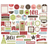 Simple Stories - Christmas - Holly Jolly Collection - Journal Bits and Pieces