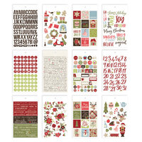 Simple Stories - Christmas - Holly Jolly Collection - Mini Sticker Tablet
