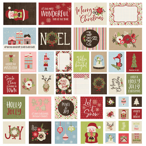 Simple Stories - Christmas - Holly Jolly Collection - SNAP Cards
