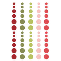 Simple Stories - Christmas - Holly Jolly Collection - Enamel Dots