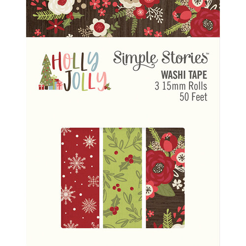 Simple Stories - Christmas - Holly Jolly Collection - Washi Tape
