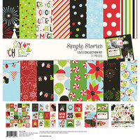Simple Stories - Say Cheese Christmas - 12 x 12 Collection Kit