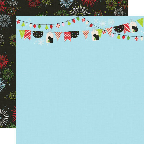 Simple Stories - Say Cheese Christmas - 12 x 12 Double Sided Paper - Believe in Magic