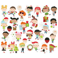 Simple Stories - Say Cheese Christmas - Happy Kids Bits and Pieces