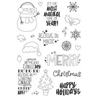 Simple Stories - Say Cheese Christmas - Clear Photopolymer Stamps