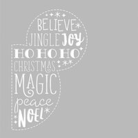 Simple Stories - Say Cheese Christmas - 6 x 6 Stencil