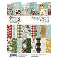 Simple Stories - Winter Farmhouse Collection - 6 x 8 Paper Pad