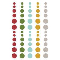 Simple Stories - Winter Farmhouse Collection - Enamel Dots