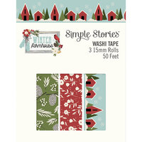 Simple Stories - Winter Farmhouse Collection - Washi Tape