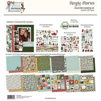Simple Stories - Winter Farmhouse Collection - 12 x 12 Collector's Essential Kit