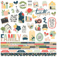 Simple Stories - So Happy Together Collection - Combo Sticker