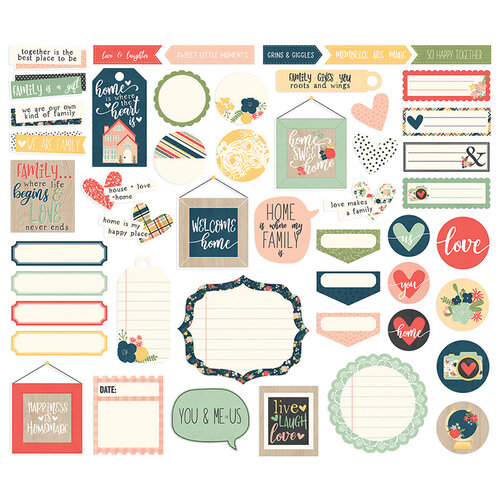 Simple Stories - So Happy Together Collection - Journal Bits and Pieces